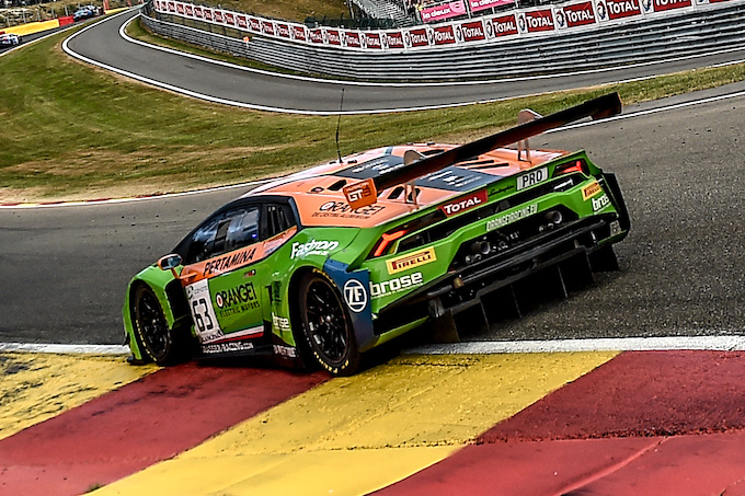 Blancpain | Per Orange1 Racing una 24H di Spa da dimenticare