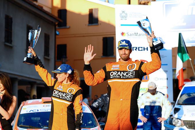 CIR | Orange1 Racing, al San Marino Rally un ottimo secondo posto