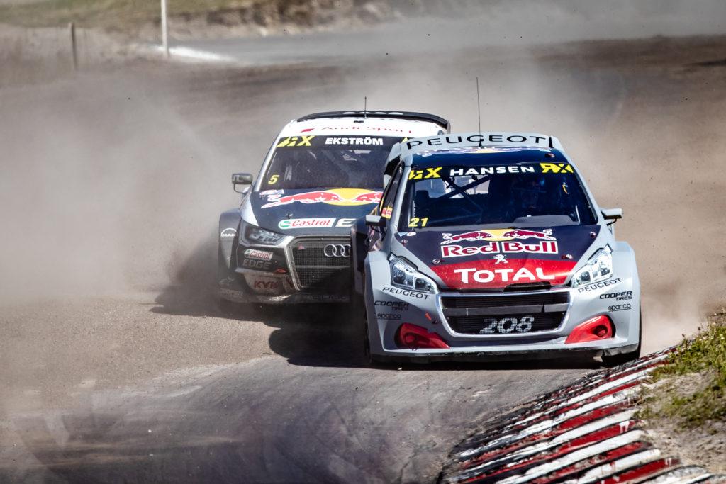 Rallycross | Peugeot fuori dal podio in Svezia con la nuova vettura [VIDEO]