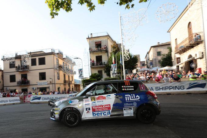 Suzuki Rally Trophy | Poker di Giorgio Cogni al Rally di Roma Capitale