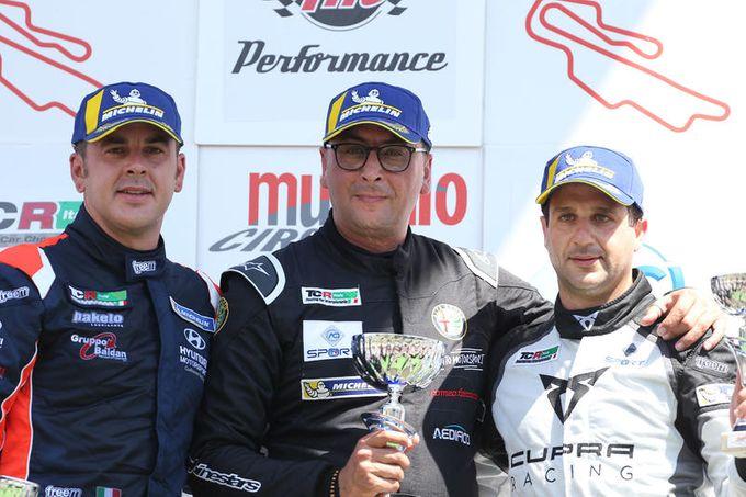TCR Italy | Salvatore Tavano nuovo leader di campionato dopo il quarto round al Mugello