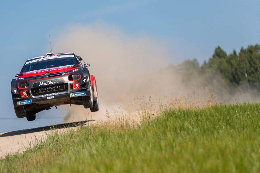 WRC | Citroen e Breen chiudono al terzo posto il rally test in Estonia