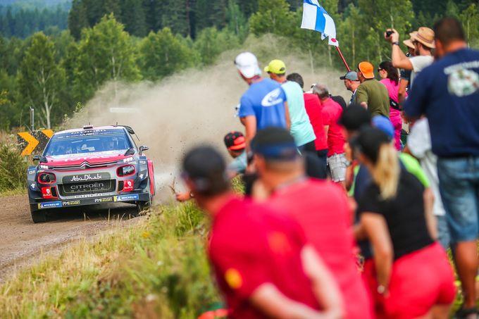 WRC | Citroen si aggiudica lo shakedown al Rally di Finlandia