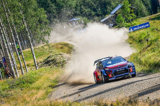 WRC | Rally Finlandia, prima tappa: comanda Tanak, ma incombe Citroen con Ostberg