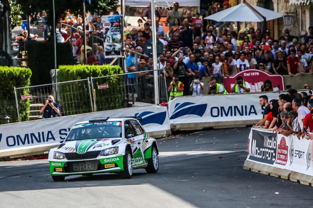FIA ERC | Kreim sorprende nello Junior U28 al Rally Roma Capitale, Sesks primo tra gli U27