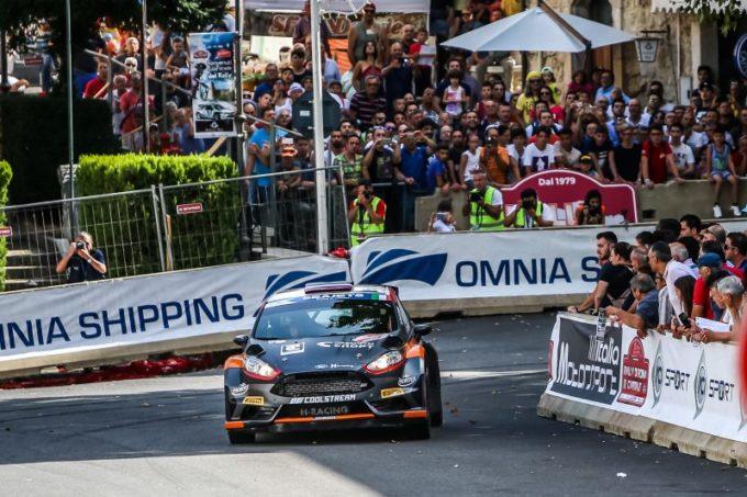FIA ERC | Lukyanuk comanda il Rally di Roma Capitale davanti a Basso