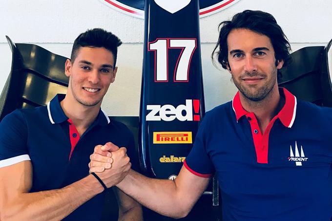 FIA F2 | Trident ha scelto: Lorandi promosso al posto di Ferrucci