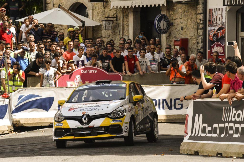 Trofei Renault Rally | Ferrarotti e Paris sono i campioni 2018 dopo il Rally di Roma Capitale