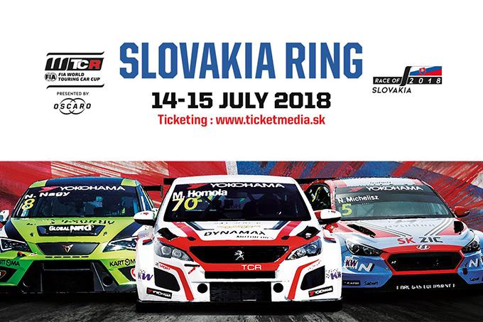 WTCR | Race of Slovakia 2018: Anteprima e Orari del weekend