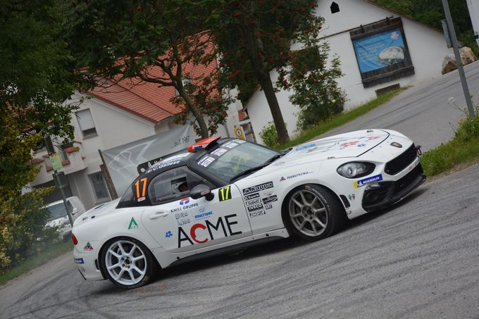Le Abarth 124 Rally impegnate in Svizzera e in Austria. I vincitori dell'Aci Rally Italia Talent nel CIWRC