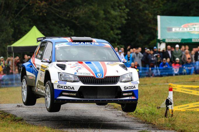 FIA ERC | Kopecký vince di rimonta il Barum Czech Rally. Lukyanuk sempre più leader