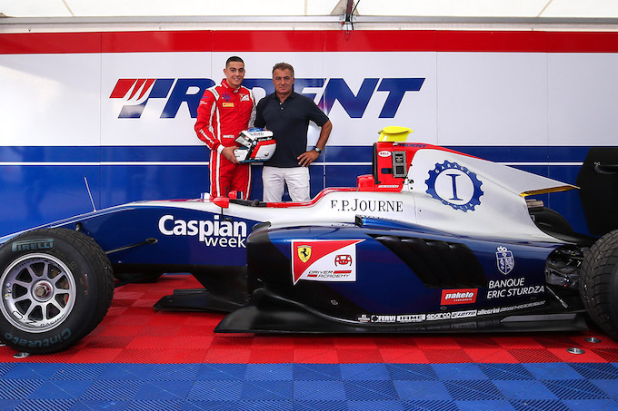 Garage Italia sponsor di Giuliano Alesi in GP3