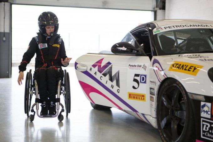 La storia di Nathalie McGloin: come trasformare una paralisi in un amore per le corse