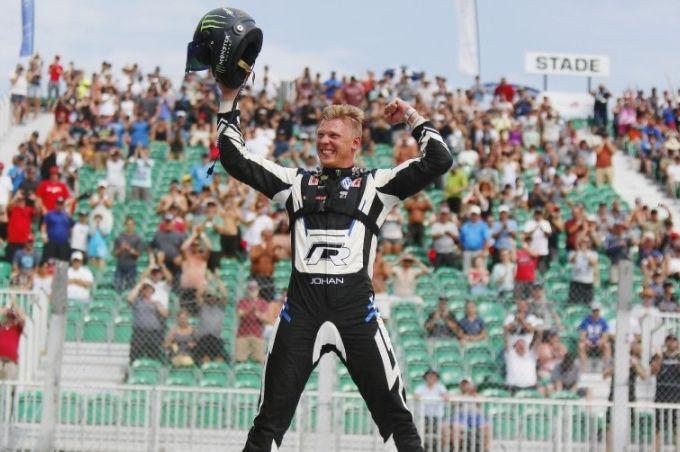 Rallycross | Kristoffersson vince in  Canada, sul podio le Peugeot