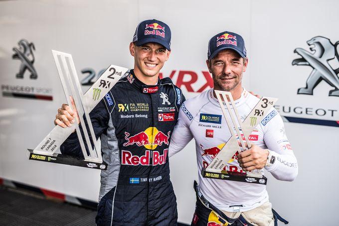Rallycross | Peugeot sul podio in Canada: l'evoluzione della 208 WRX comincia a dare frutti