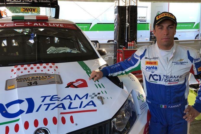 WRC2 | Podio per Fabio Andolfi al Rally di Germania, dedicato alle vittime del Ponte Morandi