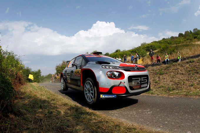 WRC2 | La Citroen C3 R5 si avvicina alla vetta ma paga la sfortuna al Rally di Germania