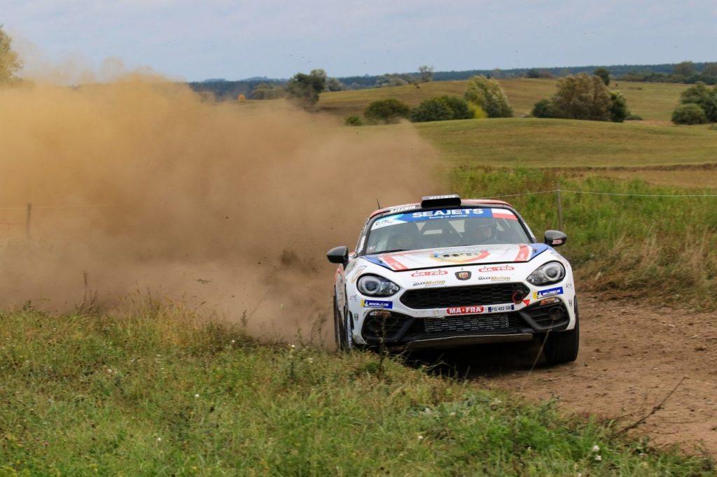 Trionfi Abarth nella R-GT per Tempestini in Polonia e Modanesi al Rally Adriatico