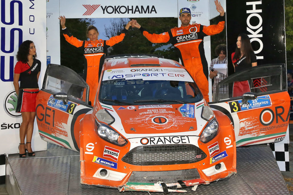 CIR | Orange1 Racing, Campedelli secondo al Rally Adriatico riapre il Campionato