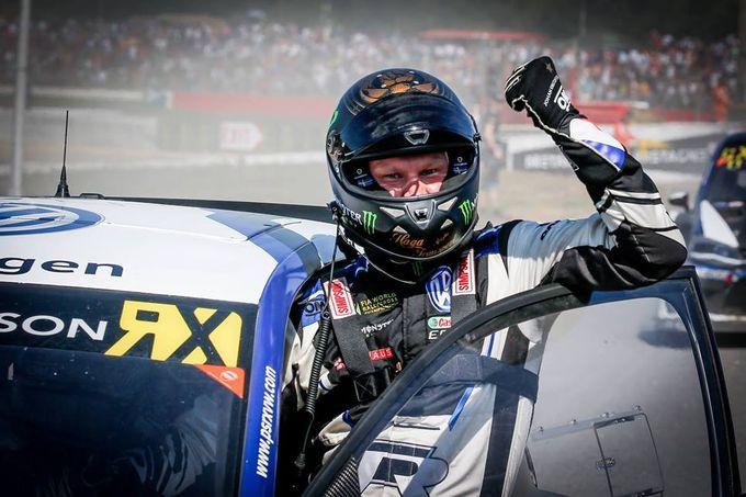 Rallycross | Sempre e solo Kristoffersson, ma in Francia la vittoria arriva all'ultimo metro