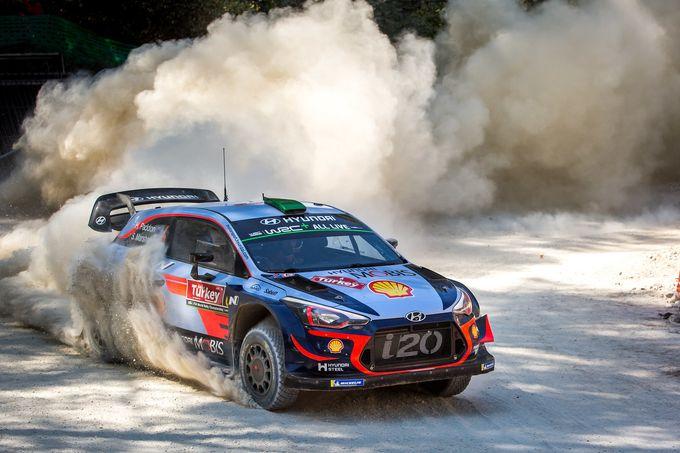 WRC | Hyundai tra luci ed ombre al Rally di Turchia 2018