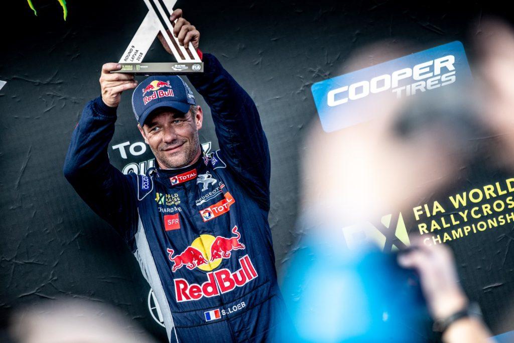 Rallycross | Loeb porta a podio la Peugeot 208 WRX Evo in Lettonia