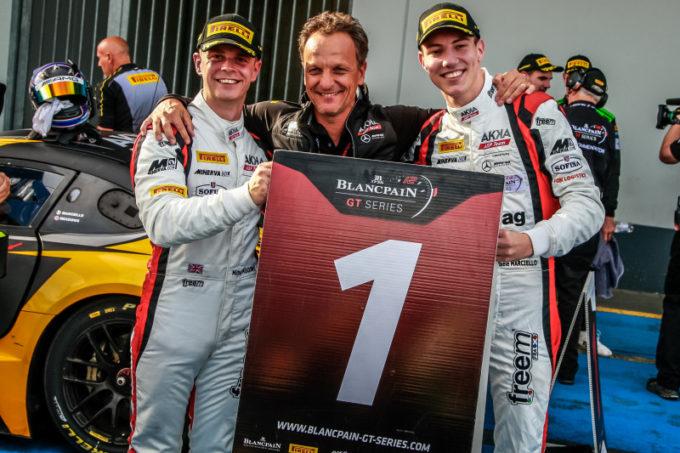 Blancpain | Marciello e Meadows conquistano lo scettro della Sprint Cup al Nurburgring
