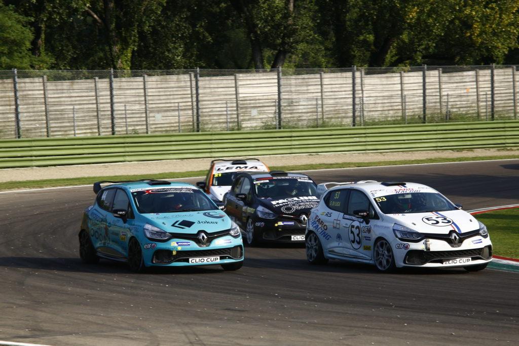 Renault Clio Cup Italia | Jelmini e Di Luca firmano un successo a testa ad Imola