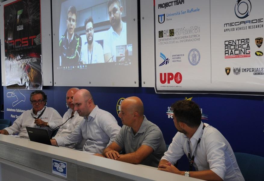 RCST | A Vallelunga e al Nurburgring i primi test del sistema di telemetria umana