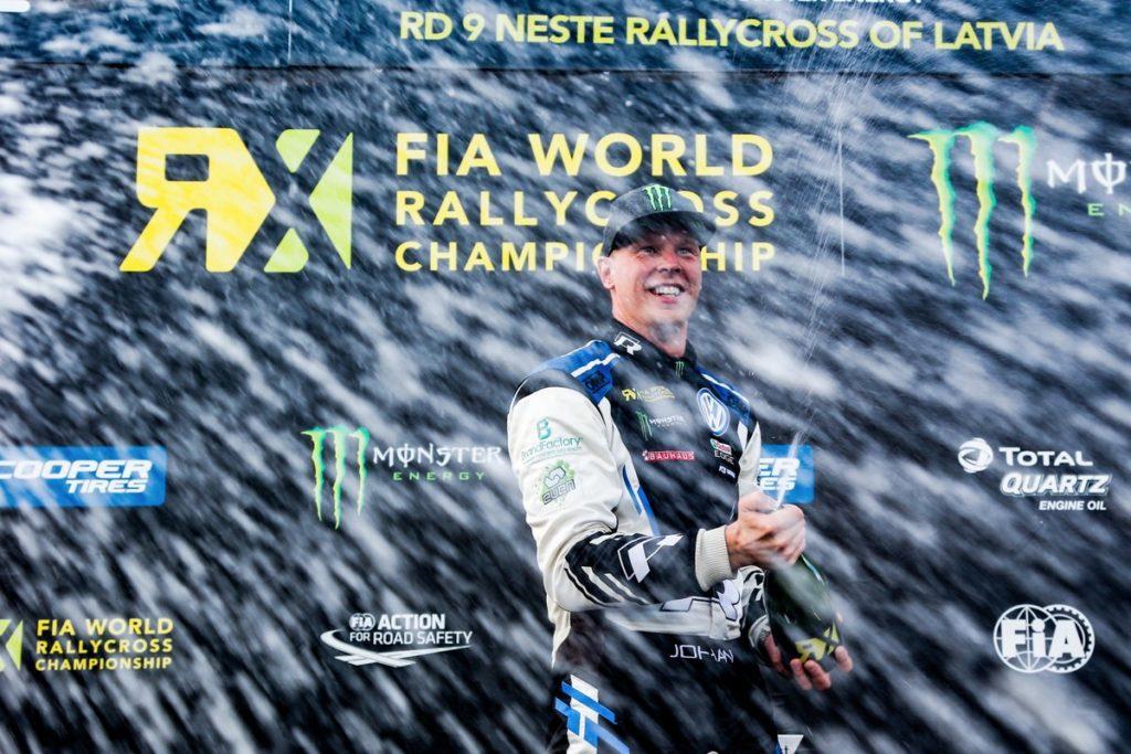Rallycross | Ancora Kristoffersson, ottavo sigillo stagionale in Lettonia