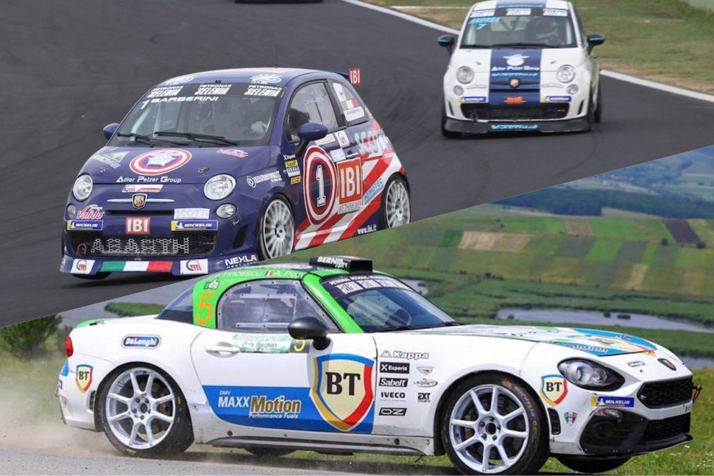 Abarth 124 Rally e Trofeo 500 in azione, weekend ricco per lo Scorpione