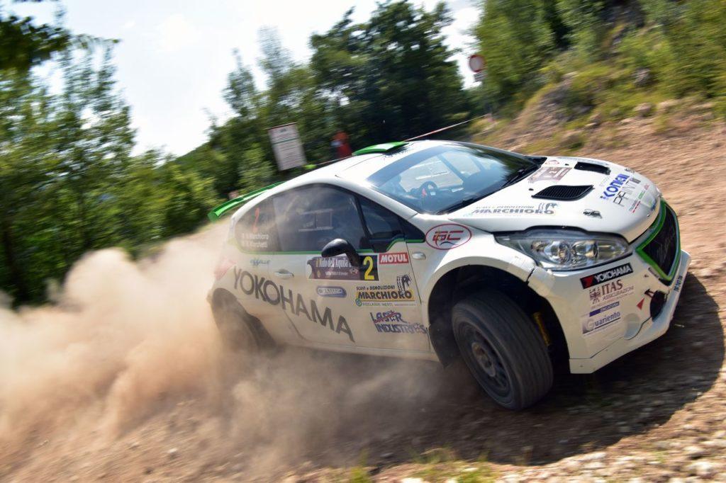 CIRT | Rally Nido dell'Aquila 2018, la start list: quattro piloti in lotta per il titolo