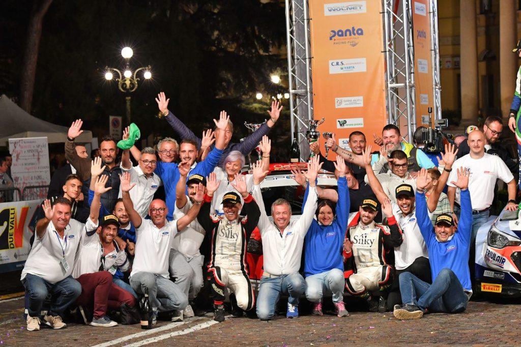 CIR | Ford Racing Italia celebra la conquista del CIRA per Crugnola e il titolo Costruttori 2018