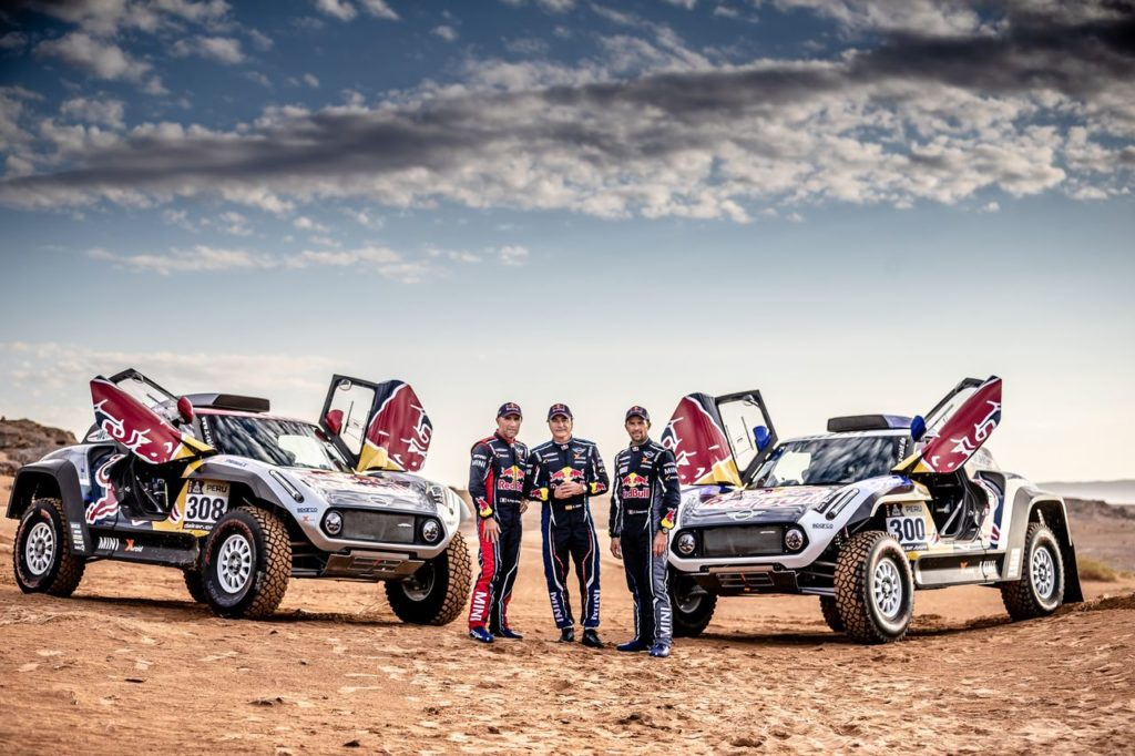 Dakar | X-Raid con Mini schiera un dream team per l'edizione 2019