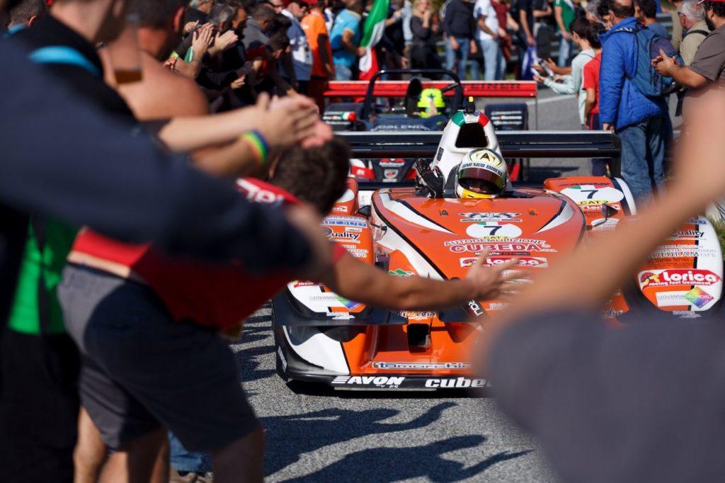 FIA Hill Climb Masters | Podio italiano a Gubbio: trionfa Merli, secondo Faggioli