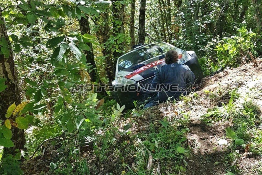 CIR | Peugeot e Andreucci coinvolti in un altro incidente nei test?