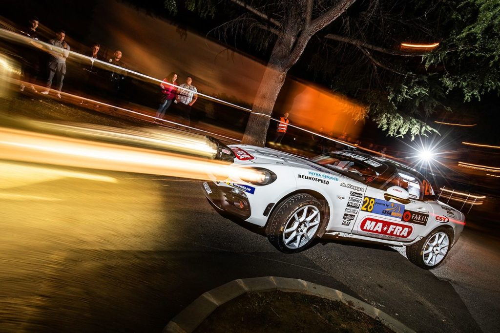 Trionfo in Slovenia per l'Abarth 124 Rally con Nucita tra le R-GT
