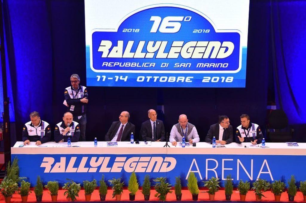 RallyLegend 2018: anteprima ed orari