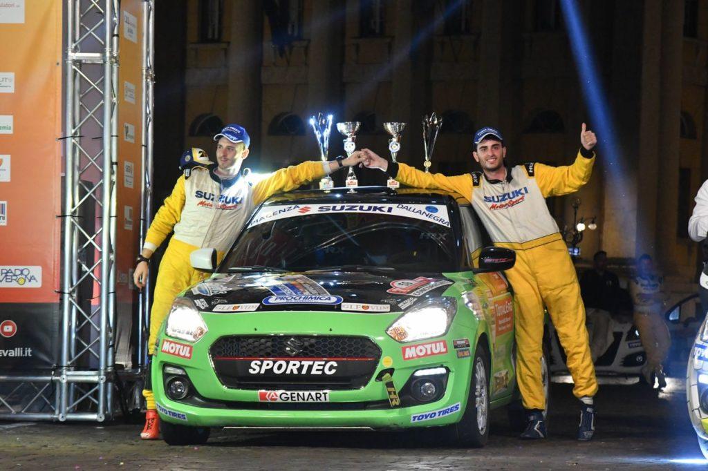 Suzuki Rally Trophy | Il dominio assoluto di Cogni anche al Rally Due Valli