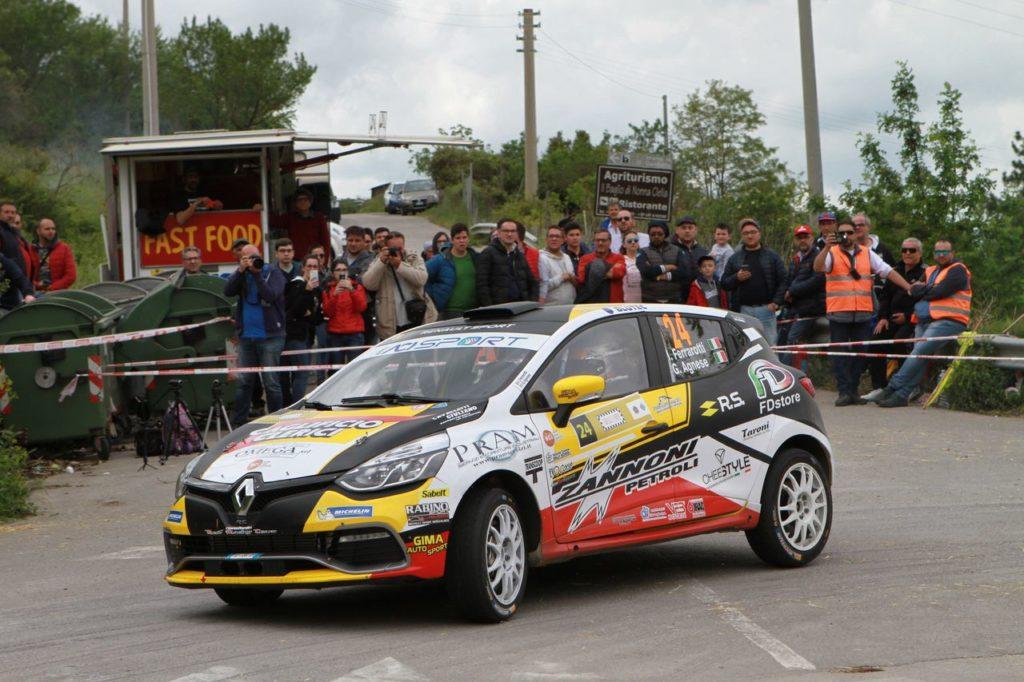 CIR | Si chiude al Rally Due Valli la stagione dei monomarca Renault