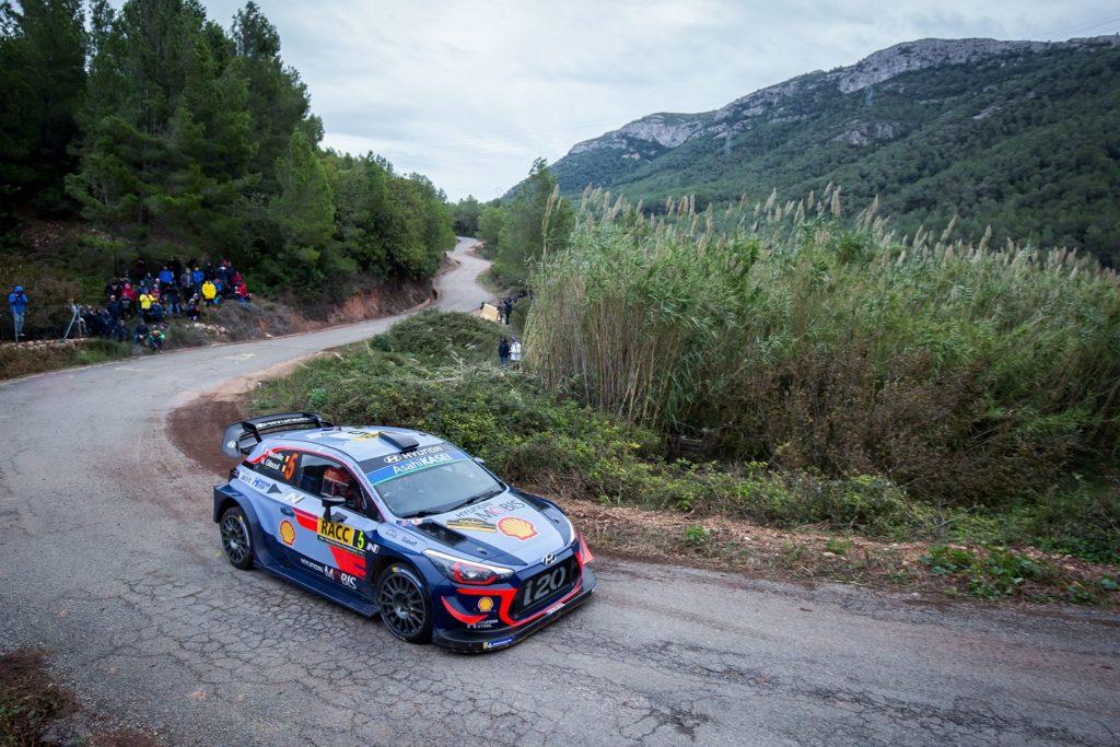 WRC | Hyundai centra la top five in Spagna, Neuville si gioca il titolo in Australia