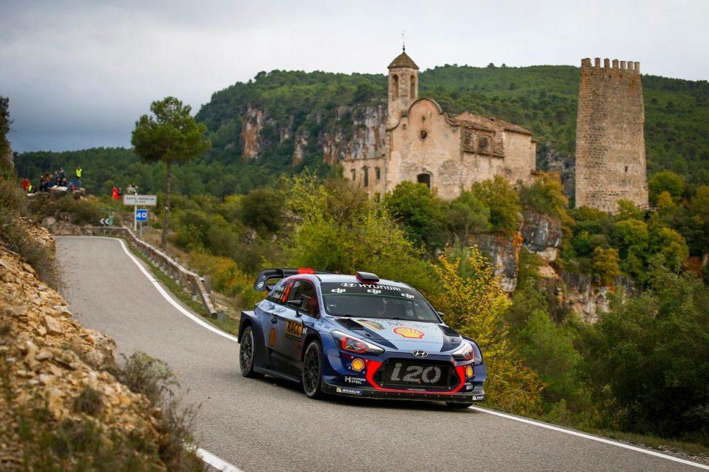 WRC | Al Rally di Catalogna Hyundai ritrova Sordo e confida nel riscatto
