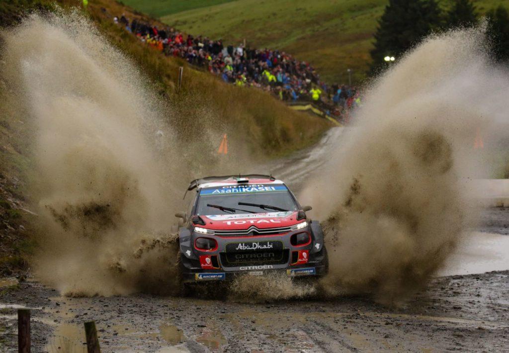 WRC | Buone prestazioni per Citroen al Rally del Galles: quarto posto per Breen