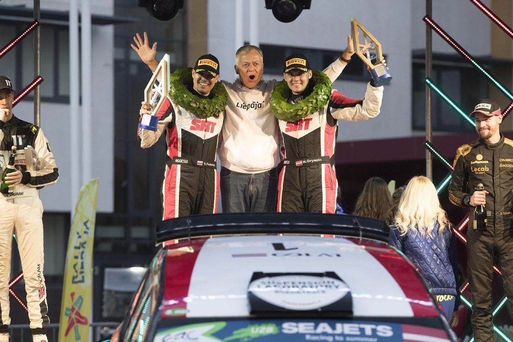 FIA ERC | Gryazin conquista la vittoria e l'Under 28 a Liepaja
