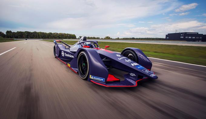 Formula E | Envision Virgin Racing presenta una spettacolare livrea viola