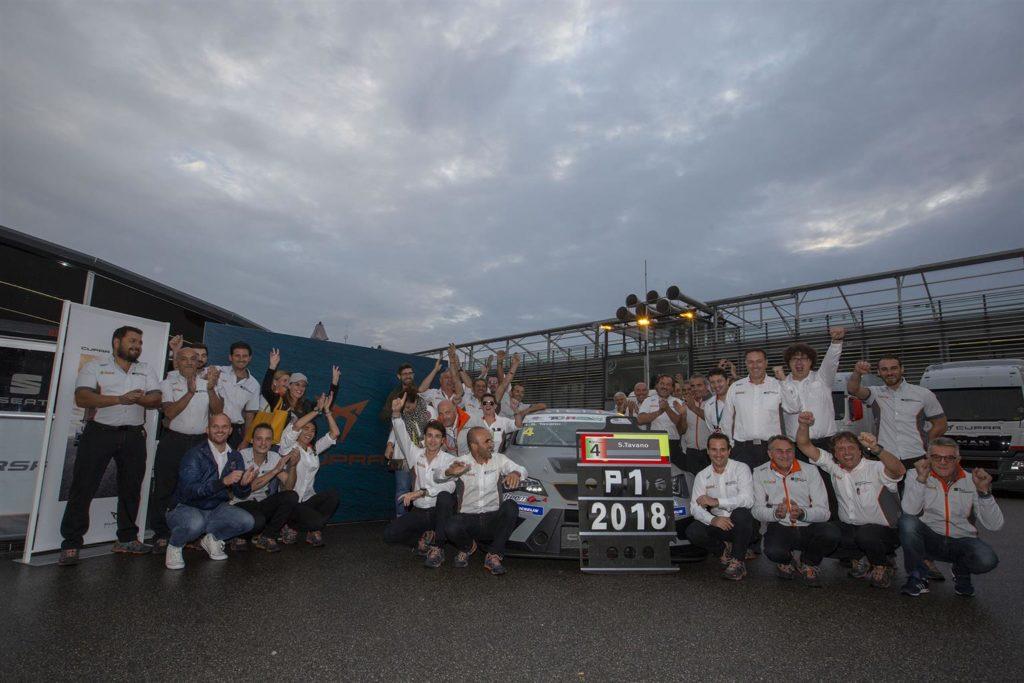 TCR Italy | CUPRA conquista il tricolore al suo anno d'esordio con Tavano