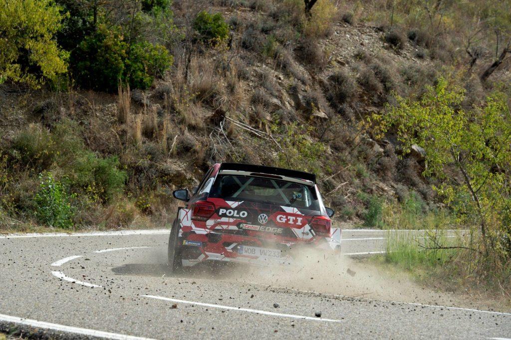 WRC2 | Solberg prova la Volkswagen Polo GTI R5 in vista del Rally di Spagna [VIDEO]
