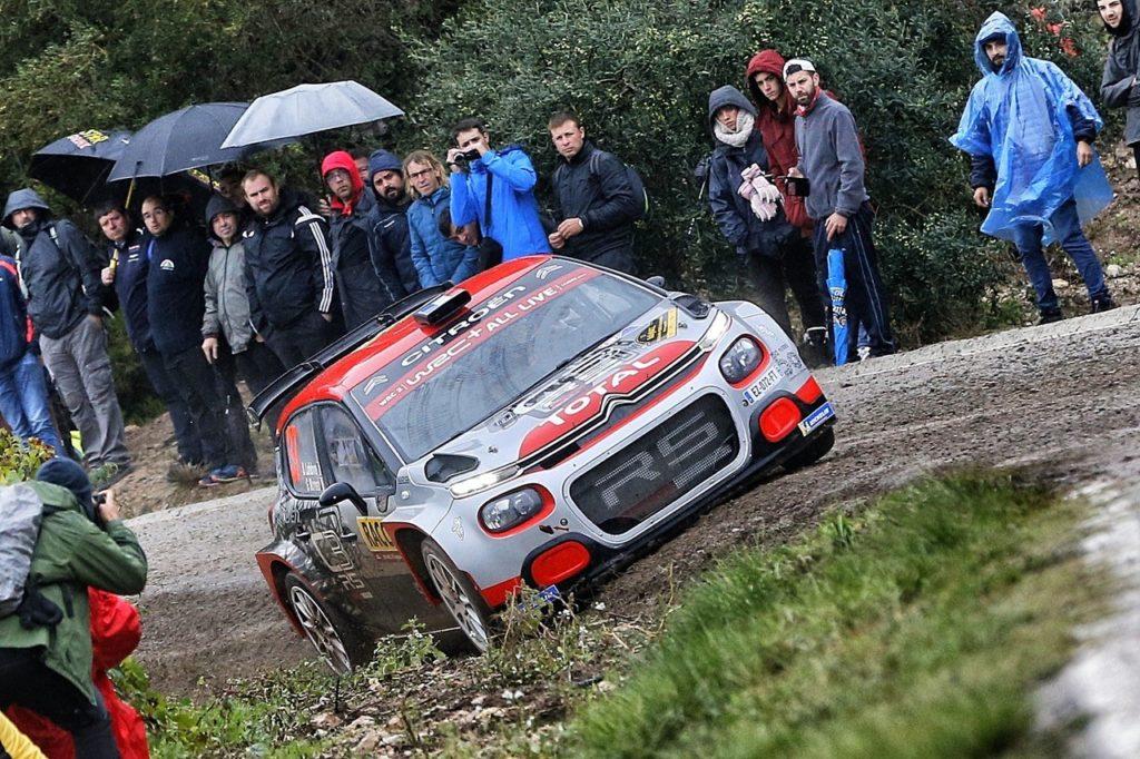 WRC2 | Un sasso interrompe la gara dello sfortunato Lefebvre e di Citroen in Spagna