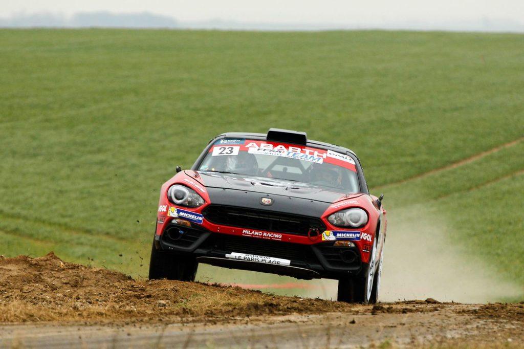 Si chiude la stagione 2018 dell'Abarth 124 Rally: Francia o Spagna, purché si vinca