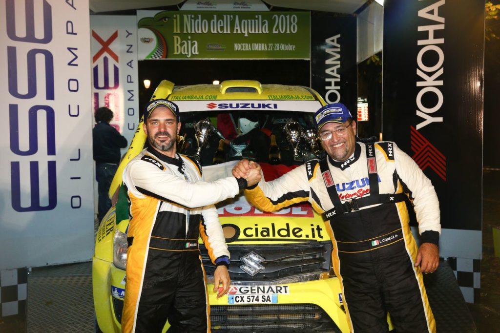 CI Cross Country | Al Baja Nido dell'Aquila arriva il titolo 2018 per Suzuki e Codecà